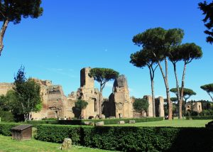LES THERMES DE CARACALLA rome guide