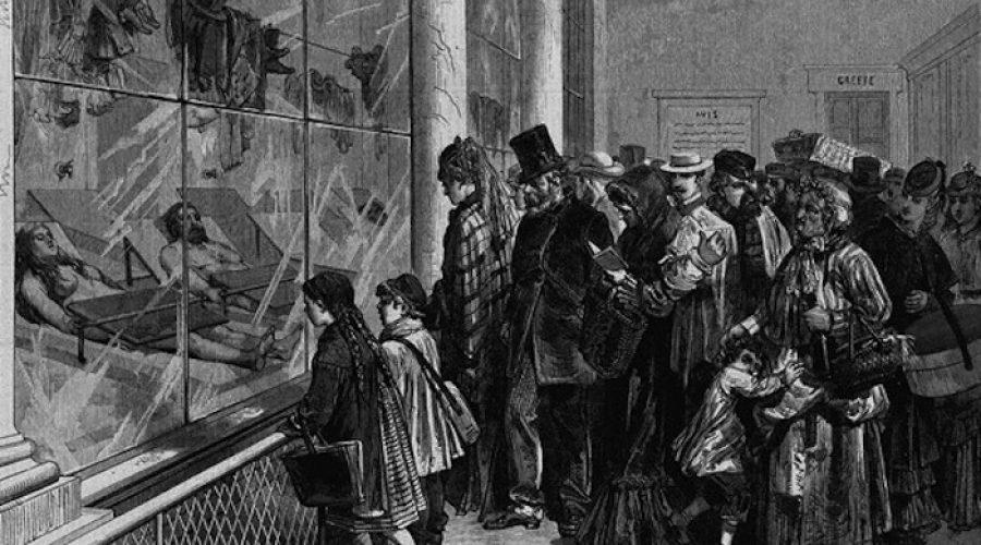 Visite historique: 15 adresses du Paris lugubre et criminel.