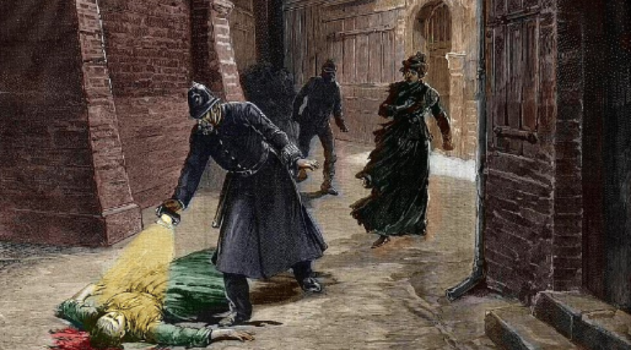 Voyage en 1888 – Londres: Les 5 sites des crimes de Jack l'Eventreur