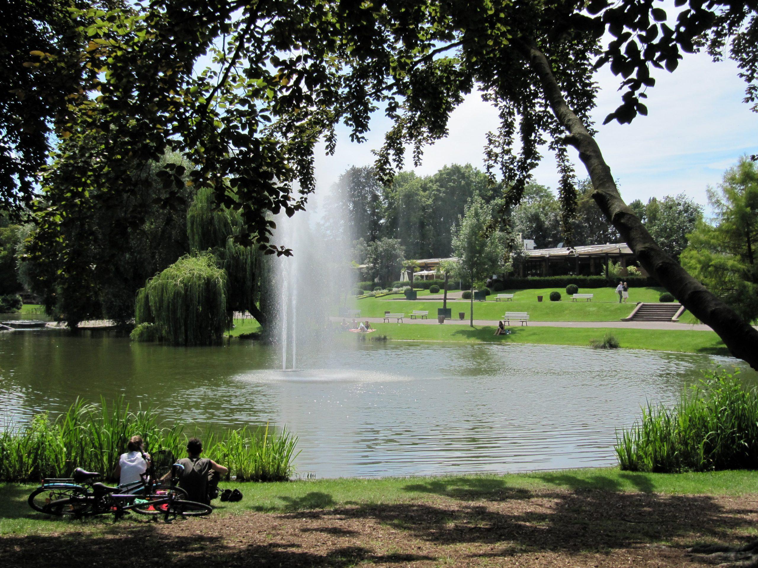 strasbourg parc de l'orangerie