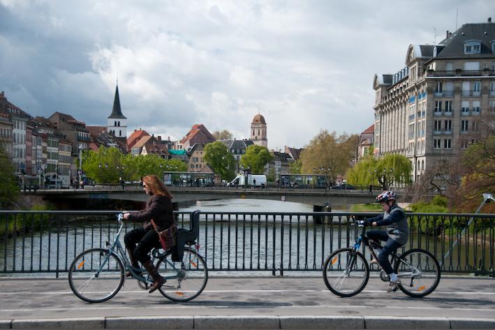 strasbourg visite vélo