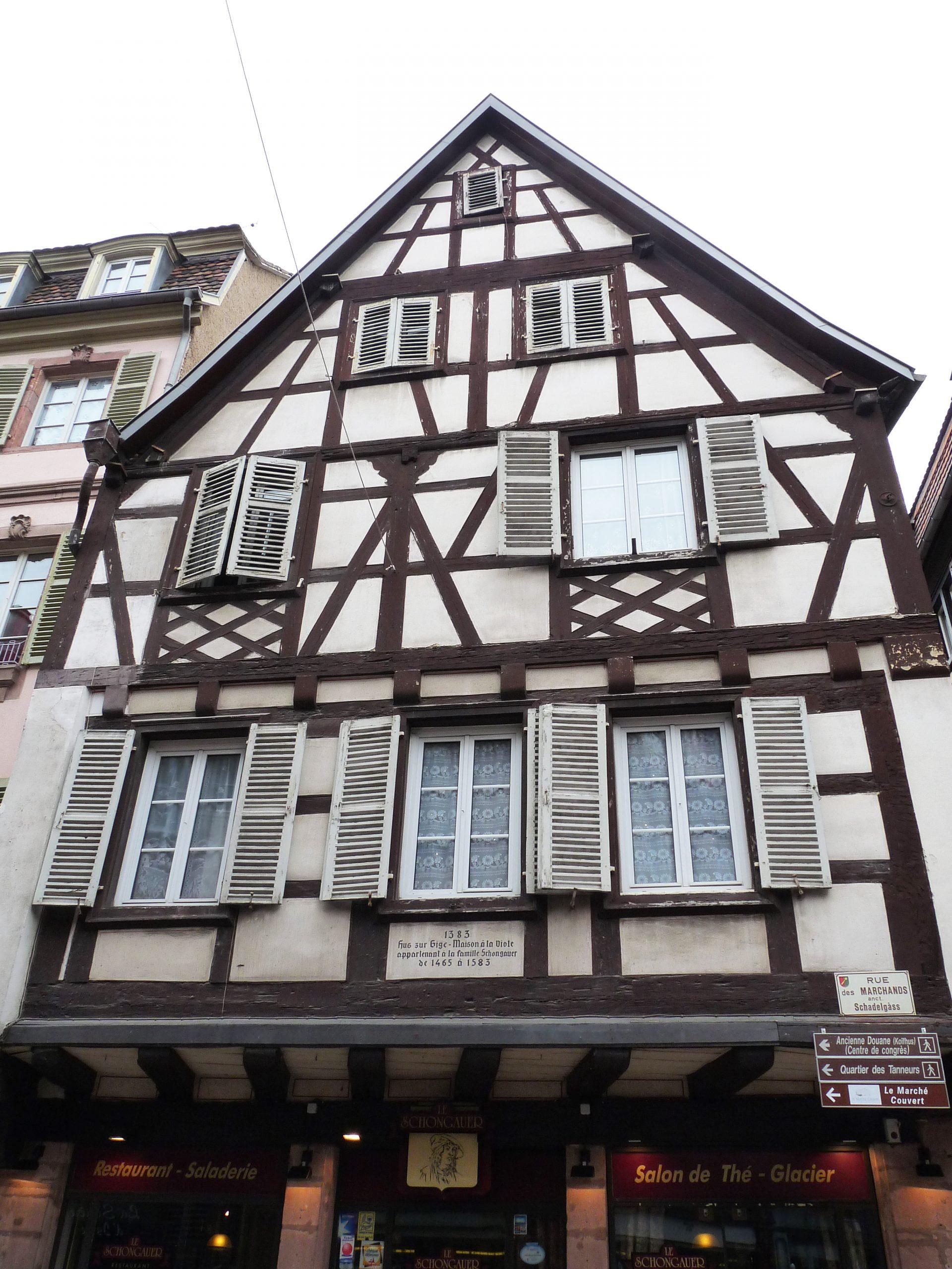 Maison Schongauer