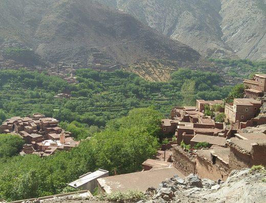 randonnee maroc trois vallees